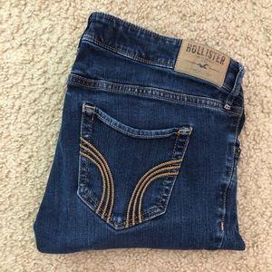 Low Rise Dark Wash Hollister Jeans